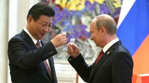 Nga, Putin, Trung Quốc, Tập Cận Bình, ngưỡng mộ