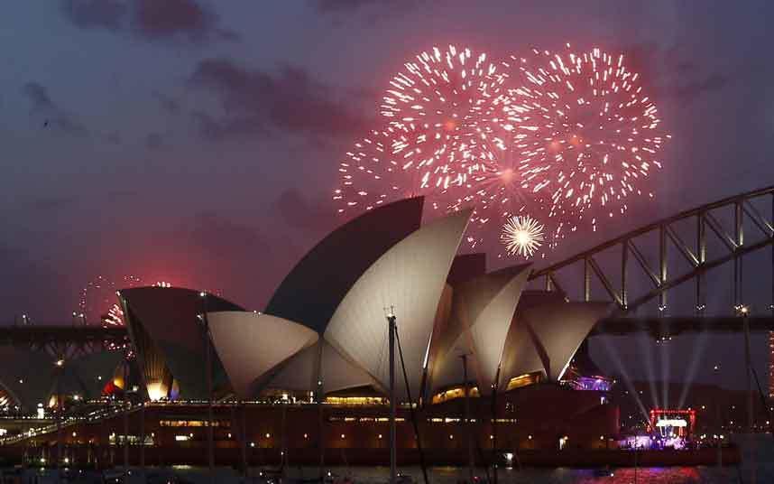 thế giới, đón năm mới, 2015,