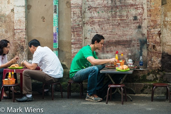 Mark Wiens, du lịch, ẩm thực đường phố, ẩm thực Sài Gòn, chàng trai Mỹ