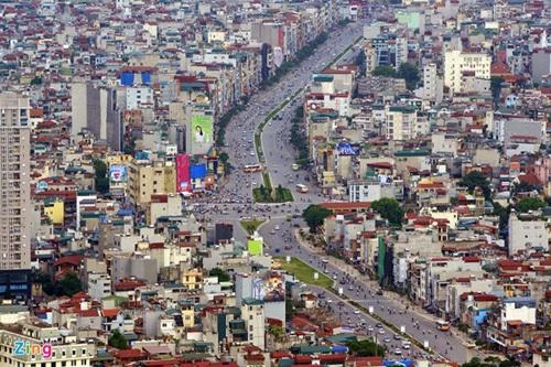 Kỷ lục, 'đường đắt nhất Việt Nam', xô đổ, Láng Hạ - Giảng Võ