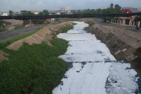 kênh ba bò, ô nhiễm, cải tạo kênh, Bình Dương