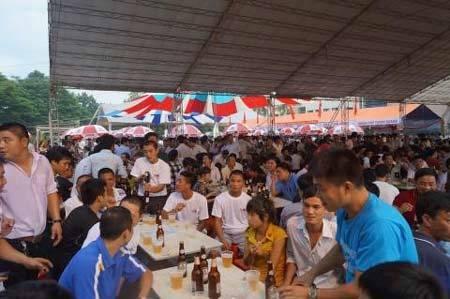 Ngày hội bia Quảng Bình: Habeco sẵn sàng đón 10.000 khách