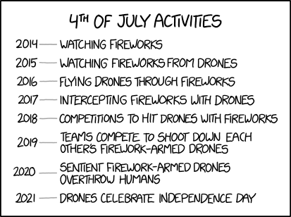 XKCD: 4th of July