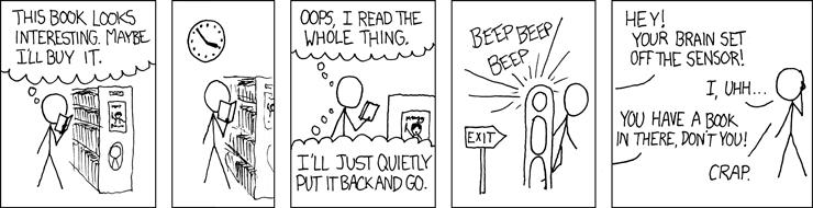 xkcd - bookstore