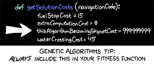 Genetic Algorithm (xkcd.com)
