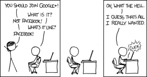 xkcd: Google+