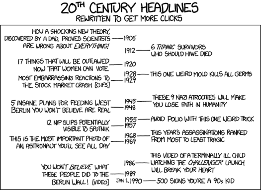 xkcd on headlines as clickbait