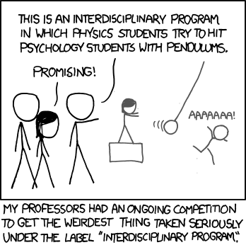 xkcd - pendulum experiment