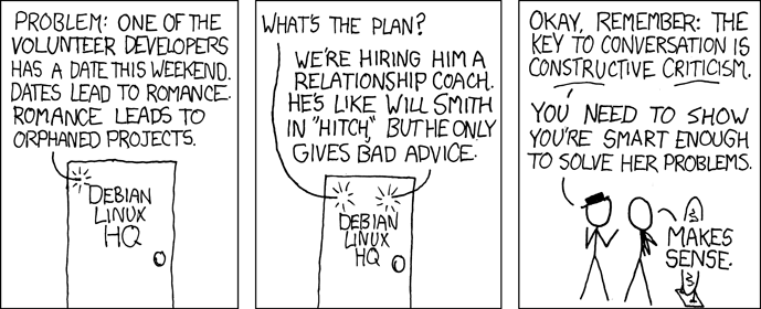 xkcd: Orphaned Projects