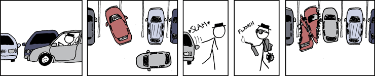 XKCD Parking comic