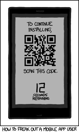 The QR paradox: is an infinite loop impossible?