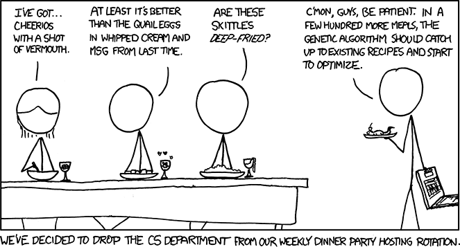 XKCD recipes