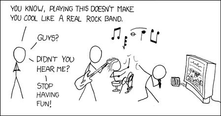 xkcd-rockband