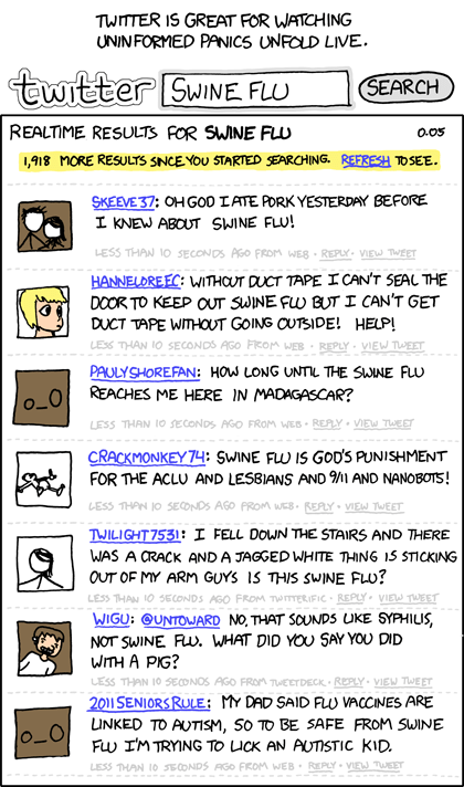 xkcd swine flu comic