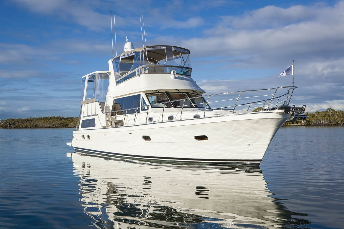 New Alaska 49 Aft Cabin Power Boats Boats Online For Sale Fibreglassgrp Queensland Qld