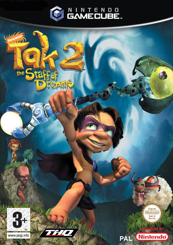 Nickelodeon Tak 2 The Staff Of Dreams (Europe) GameCube ISO