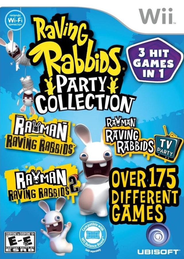 Raving Rabbids Party Collection (USA) Wii ISO