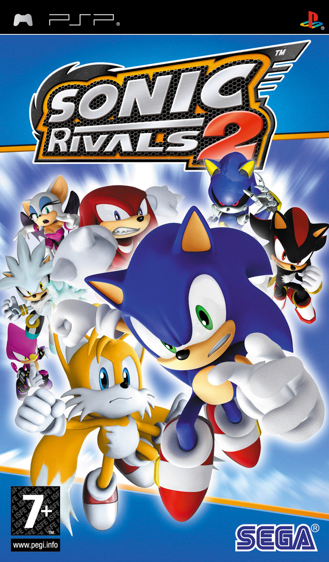 Sonic Rivals 2 Europe Psp Iso