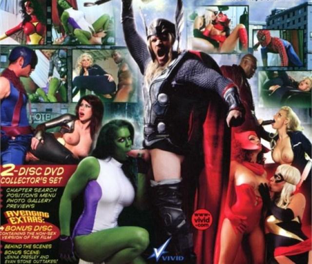 Avengers Xxx  Adult Dvd Empire