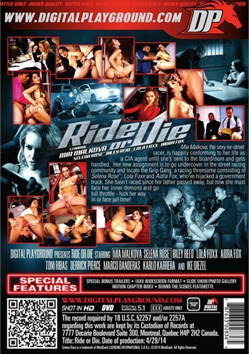 Ride Or Die, Digital Playground, Mia Malkova, Selena Rose, Riley Reid, Lola Foxx, Aidra Fox, Toni Ribas, Derrick Pierce, Marco Banderas, Karlo Karrera, Ike Diezel, Featured, horsepower