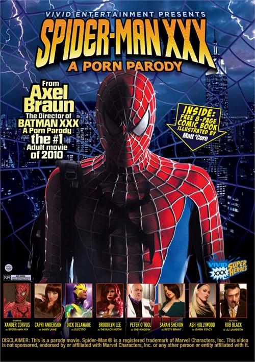Spider-Man XXX A Porn Parody Movie from Vivid