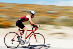 Cyclists follow Edinburgh Airport route