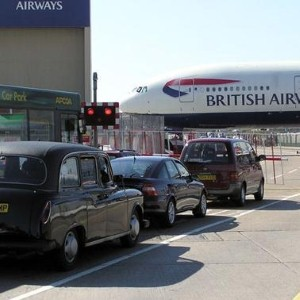 Heathrow Airport experiences greater traffic