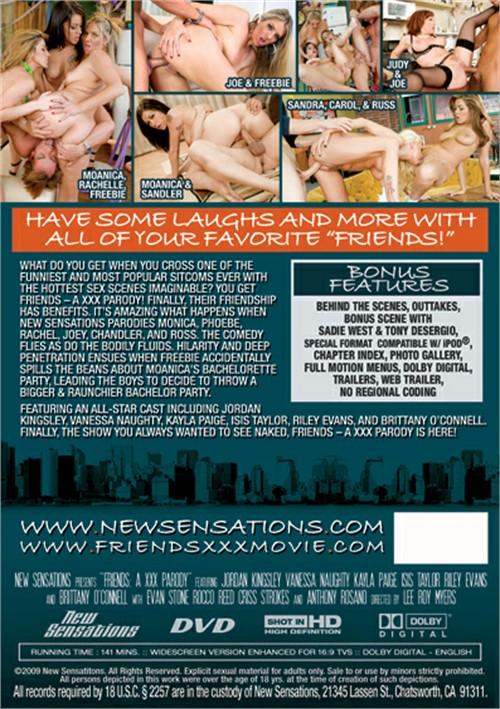 New Sensations Present Friends: A XXX Parody Porno Movie