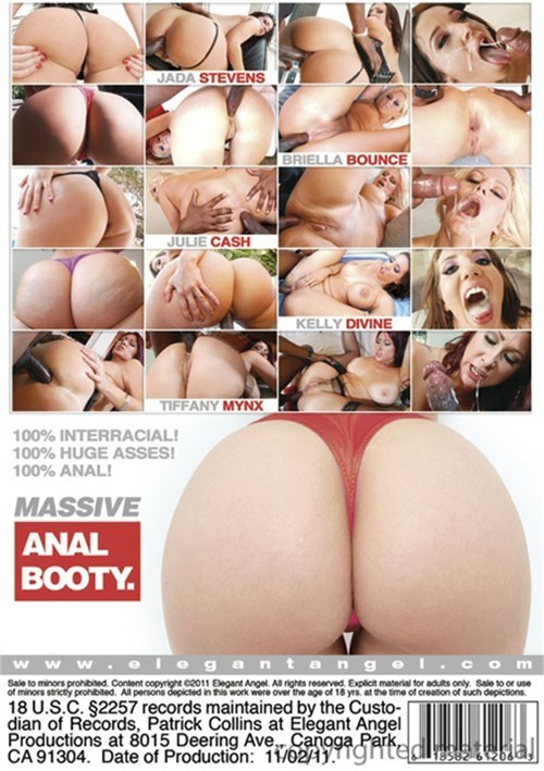Massive Anal Booty XXX DVD from Elegant Angel