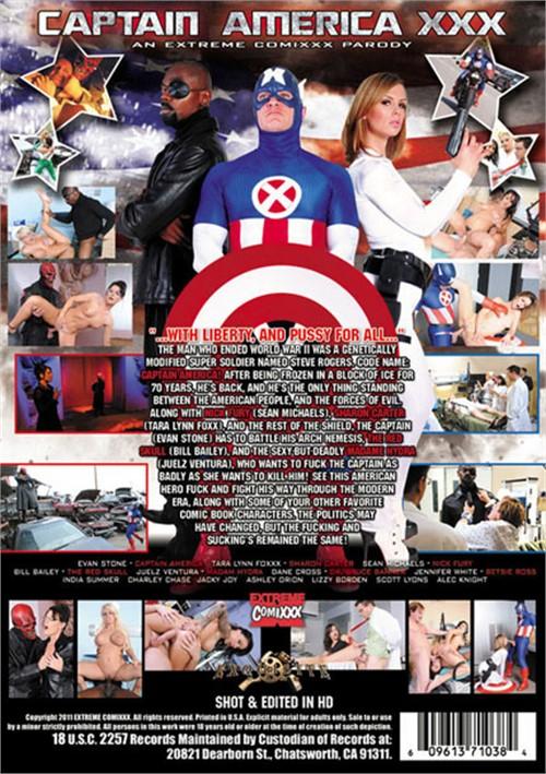Now Play Captain America XXX: An Extreme Comixxx Parody Free Porn DVD