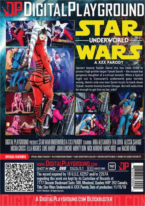 Star Wars Underworld A XXX Parody Movie