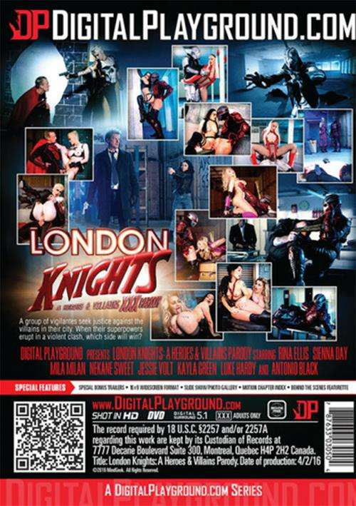 Digital Playground, Jessie Volt, Sierra Day, Kayla Green, Nekane, Luke Hardy, Antonio Black, Cosplay, Feature, Parody, Superhero, London Knights