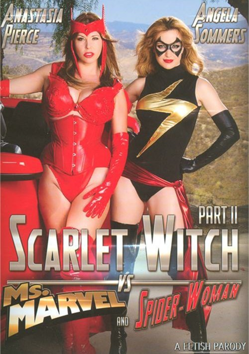 Scarlet Witch 2: VS Ms. Marvel And Spiderwoman Porn Parody DVD