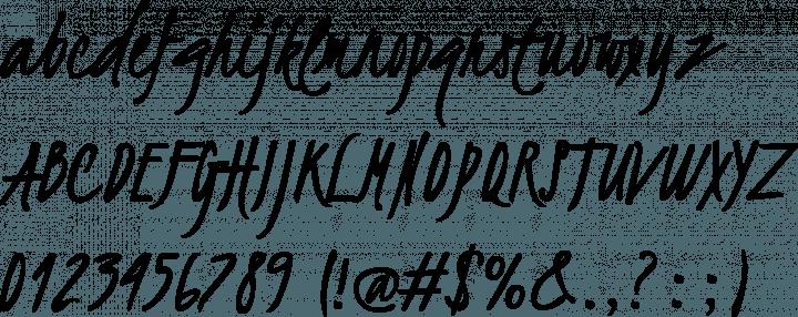 Kristi | 10 handwriting fonts | 41studio ruby on rails company