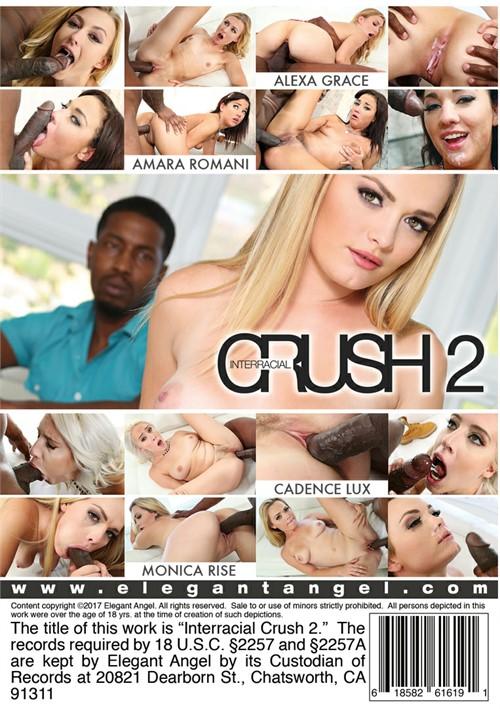 Interracial Crush 2, 2017 Porn DVD, Elegant Angel, Pat Myne, Alexa Grace, Amara Romani, Cadence Lux, Monica Rise, All Sex, Big Cocks, Interracial
