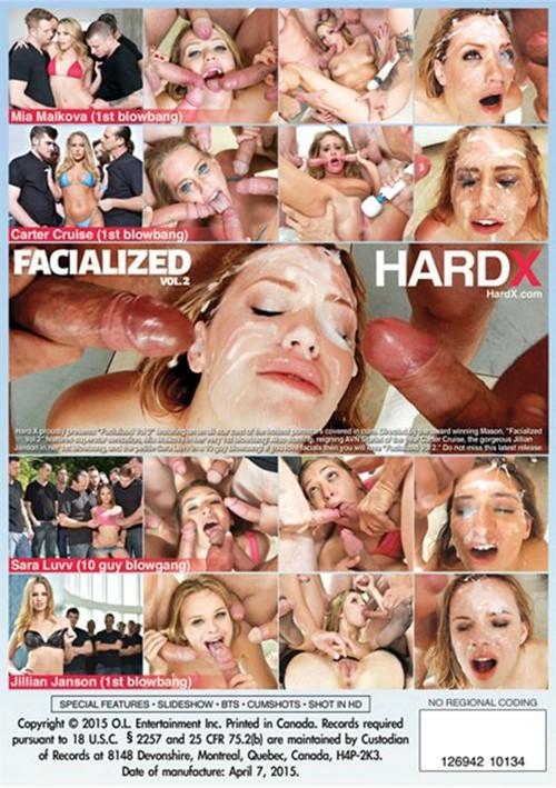 Facialized #2 DVD Hardx