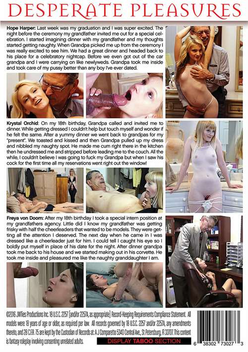 Desperate Pleasures, Hope Harper, Krystal Orchid, 18+ Teens, All Sex, Family Roleplay, Older Men, Taboo Sex, Advantage Of Young Girls