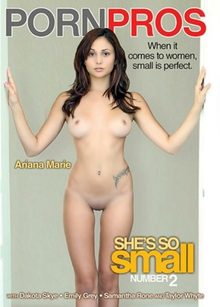 She's So Small 2, Porn DVD, Porn Pros, Ariana Marie, Dakota Skye, Emily Grey, Samantha Rone, Taylor Whyte, 18+ Teens, All Sex, Big Cocks