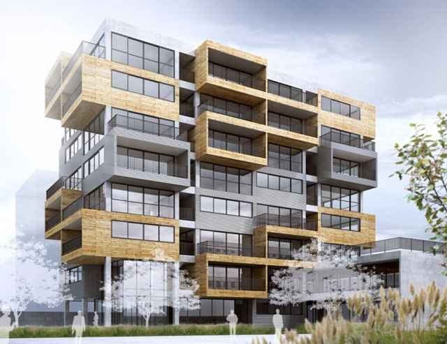 A pretensão é tirar do convencional os empreendimentos comerciais e ainda, propor diálogo com os demais prédios e a cidade como um todo (Divulgação/Aum Arquitetos)