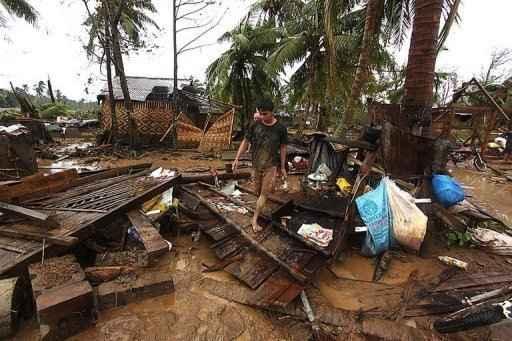 A passagem do tufão Bopha provocou pelo menos 238 mortes e deixou centenas de desaparecidos nas Filipinas, informaram as autoridades. Foto: Karlos Manlupig/AFP Photo