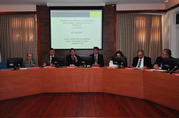 Mesa da 82ª reunião do Conselho Estadual de Política Industrial, Comercial e de Serviços de Pernambuco. Foto: Julio Jacobina/DP/D.A Press