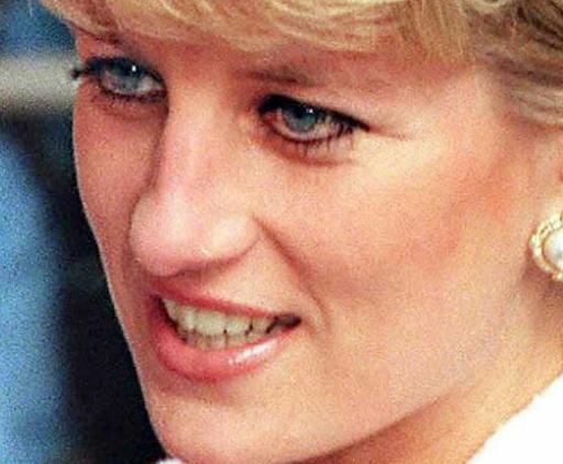 Foto de 6 de março de 1996 mostra a princesa Diana em Londres. Foto: Gerry Penny/AFP Photo/Arquivo