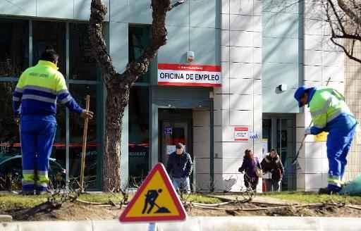 Agência de empregos em Madri - Foto: AFP Gerard Julien (AFP Gerard Julien)