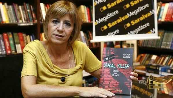 Ilana Casoy se especializou na área criminal. Foto: Acervo pessoal
