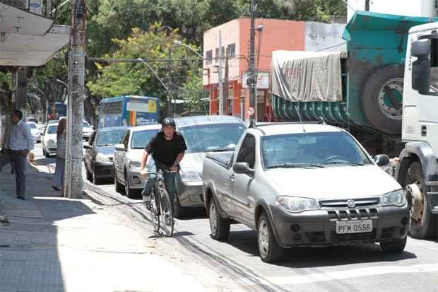 As perguntas no teste dizem respeito principalmente ao papel do ciclista como ator no trânsito. Foto: Annaclarice Almeida/DP/D.A Press
