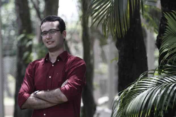 Pesquisador Bruno Véras busca dar visibilidade à história do ex-escravo. Crédito: Blenda Souto Maior/DP/D.A Press