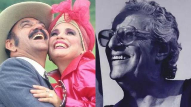 Cena de Roque Santeiro e Blota em Fera Radical. Fotos: Globo/Reprodução