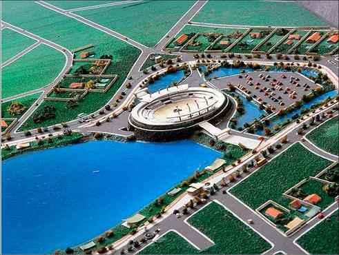 Projeto Pampulha prometia uma arena em um dos braços da lagoa