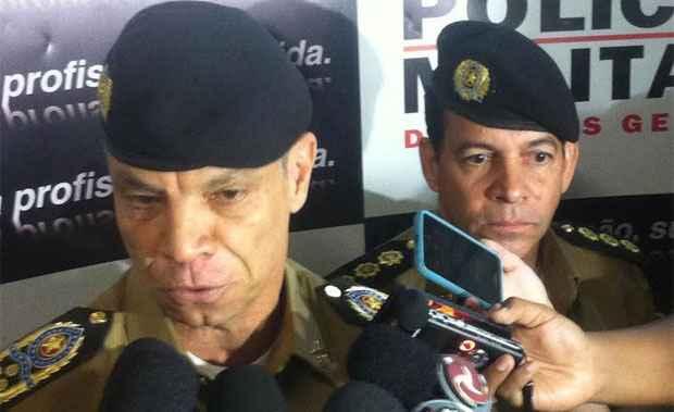 Coronel Márcio Martins Sant'anna, disse que Carvalho  não apresentou os motivos de pedido de transferência para reserva  (Leandro Couri/EM DA Press)