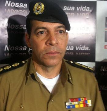 Coronel Ricardo Garcia Machado tem 27 anos de serviço e agora assume o CPE (Leandro Couri/EM DA Press)